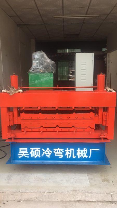 彩钢瓦机840/900双层压瓦机双型号生产全自动系统有效提高生产