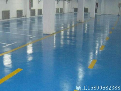 白河�h�g迎�h氧耐磨地坪漆施工、食品�S地面