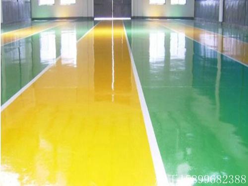 ��海�g迎地坪漆施工多少�X一方、超市地板