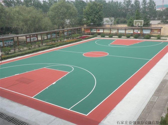 天津室外篮球场施工