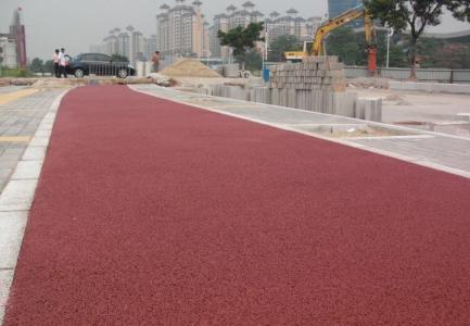 徐州市新沂市透水路面����