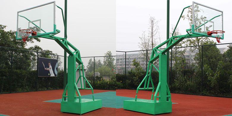 天津篮球架专卖仿液压篮球架送货安装