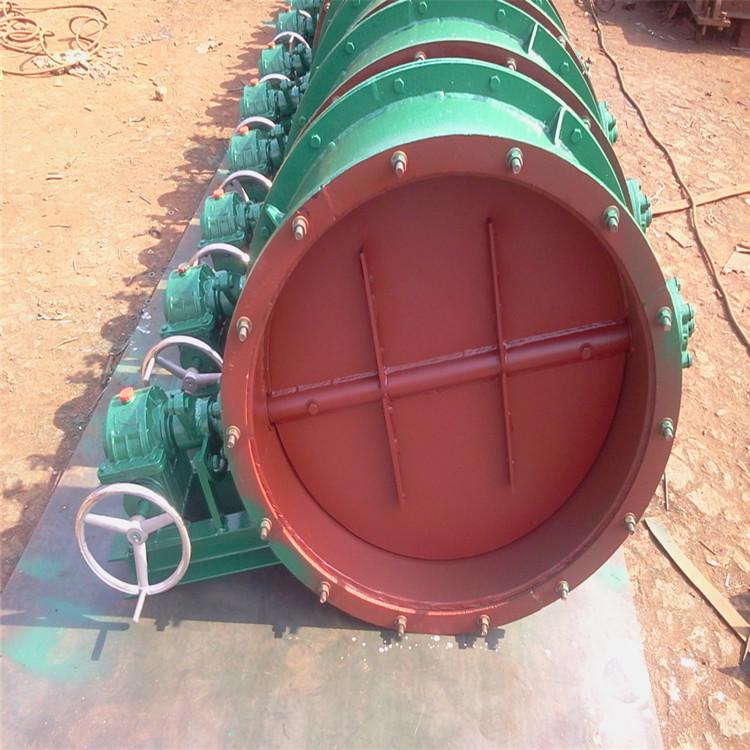 环森环保供应 直径800通风蝶阀 除尘器卸灰阀