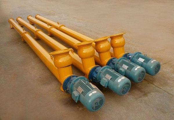 辽宁营口钢厂螺旋输送机污泥螺旋输送机河北坤腾环保设备厂家