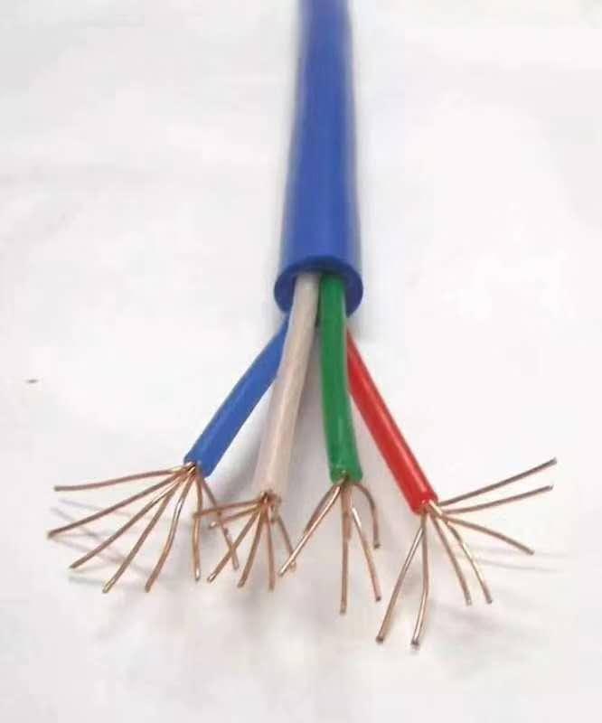 矿用通信拉力电缆lcyvb-7-1临渭
