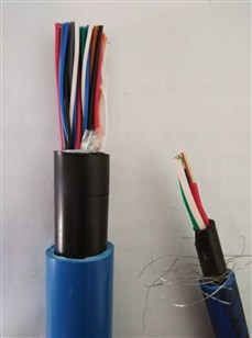 屏蔽拉力电缆矿用八芯拉力电缆乡宁