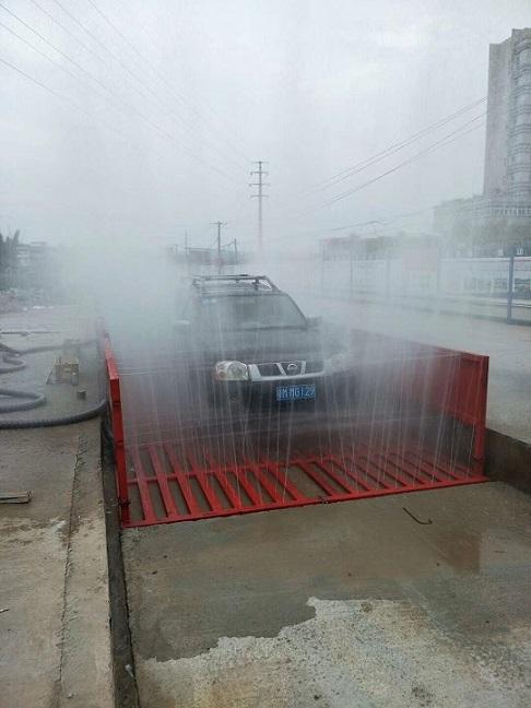 赣州渣土车洗车机定制