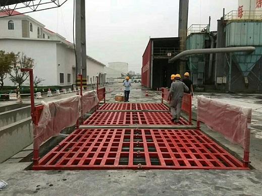 广州工地泥土车辆滚轴式洗车设备检查