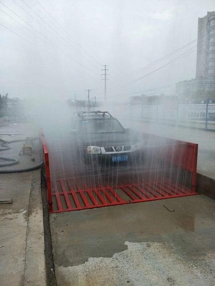 湖州工地泥土車輛滾軸式沖洗設備選購
