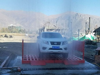 深圳工地泥土车辆洗车设施检查