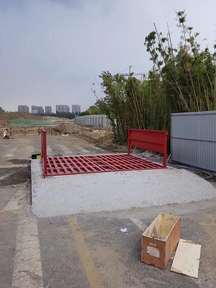 自贡工地车辆干净上路冲洗平台加强型