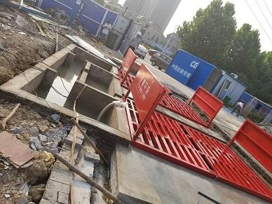 九江工地车辆自动冲洗平台承重型