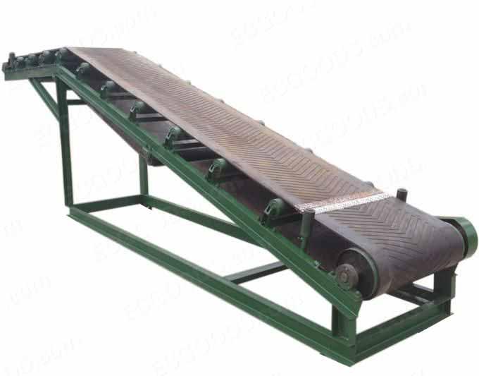 厂家定做移动式装车可升降皮带输送机粮食爬坡防滑皮带传送运输机