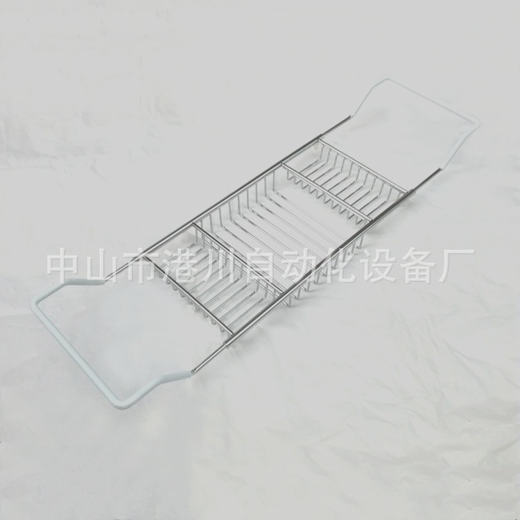厂价直销多从命金属浴缸架304出有锈钢支纳架可伸缩防滑浴缸置物架