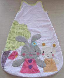 婴儿 睡袋/夏季热销法国原单纯棉绣花婴儿睡袋shp60190972tabacm、厂家...