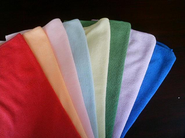 超细纤维厨房清洁巾百洁布抹布擦巾揩布
