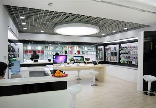 苹果专卖店设计展示图片