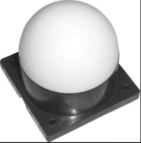 led圆飞碟单色 七彩内外控点光源