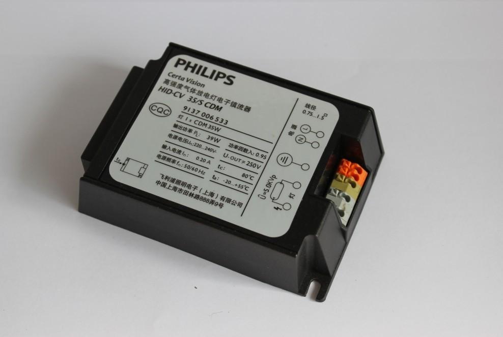 广州市震泓电子有限公司为您提供PHILIPS飞利浦HID镇流器金卤灯电子镇流器。技术参数: 型号:WSE-A035/ WSE-A070/ WSE-A150 执行标准:O/HOTTJ001-2008 电源电压:100-240V/50Hz/60Hz 启动电压:5000V 额定功率:35W/70W/150W 功率因数:095 灯泡类型:EVP金卤灯或陶瓷金卤灯 注意事项: 工作环境温度为-15~+55 镇流器最高壳温:75 镇流器输出线3M 必须使用耐压4KV的灯头 镇流器外壳必须接地 待确定光源处于冷却状态后